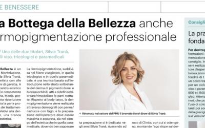 Speciale benessere: Silvia Tranà sulla stampa locale